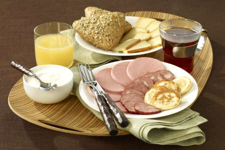 Russian breakfast Stock Photo - 17027423
