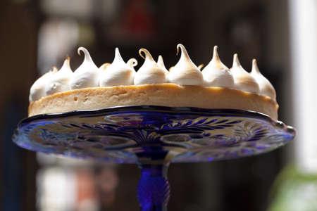 convivial: Lemon meringue tart