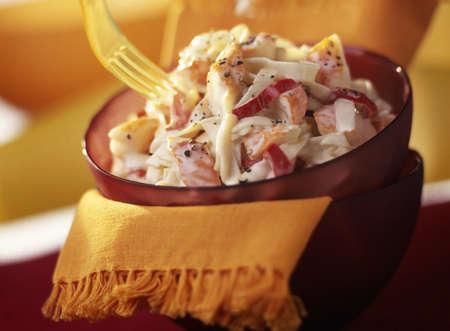 Surimi and potato salad Stock Photo - 17027718