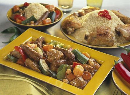 couscous: Couscous royal
