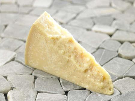 Piece of parmesan Stock Photo - 17027839