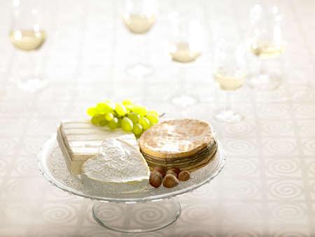 tabla de quesos: Plato de quesos