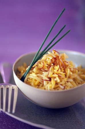 Basmati saffron rice