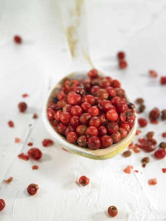 cuiller�e: Cuiller�e de poivre rose