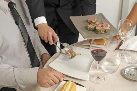 English-style serving Stock Photo - 17028359