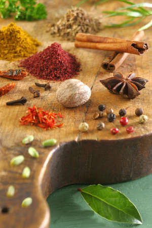 Assorted spices Stock Photo - 17028414
