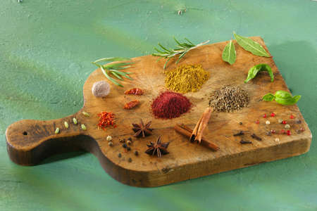 Assorted spices and herbs Stock Photo - 17028415