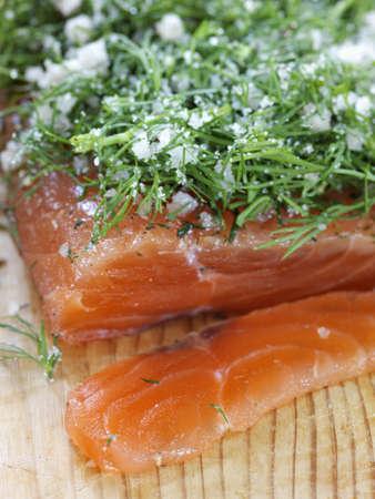 Salmon gravlax LANG_EVOIMAGES