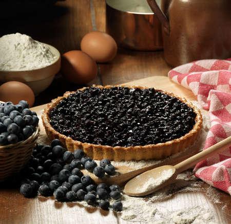 convivial: Blueberry tart LANG_EVOIMAGES