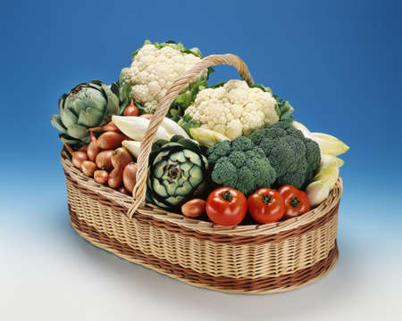 Basket of vegetables Stock Photo - 17028877