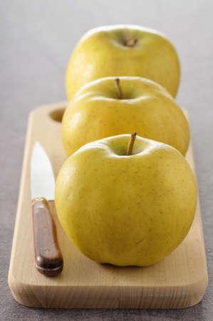 alignement: Belchard Chantecler apples LANG_EVOIMAGES