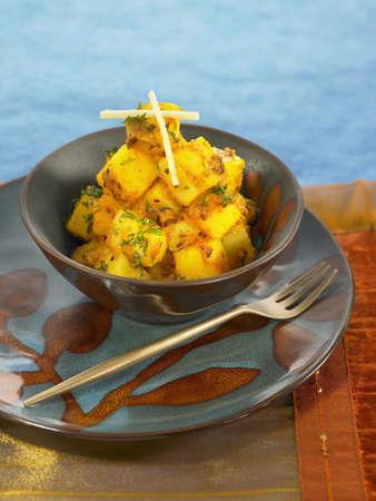 Potatoes with cumin and coriander Stock Photo - 17029073