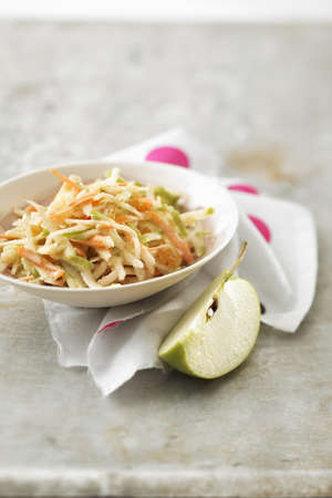carot: Carot,green apple and celeriac remoulade