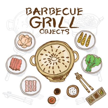 barbecue grill objects