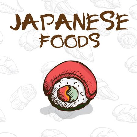 Japan food sushi
