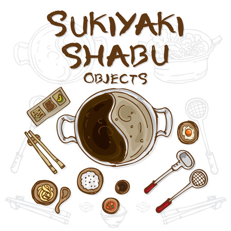 sukiyaki shabu objects