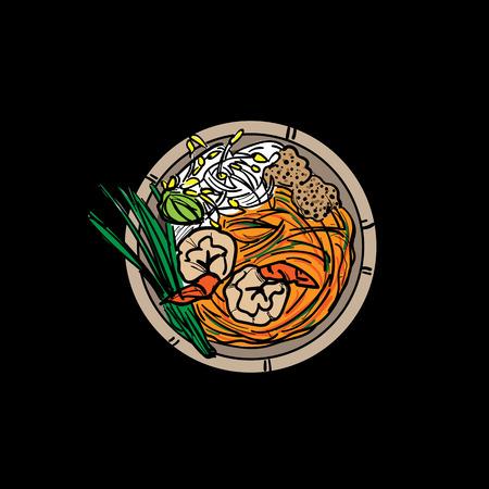thai food Pad Thai Noodles