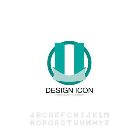 con typography font symbo sign graphic design element Banco de Imagens - 108288757