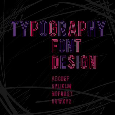 typography font alphabet character letter graphic design