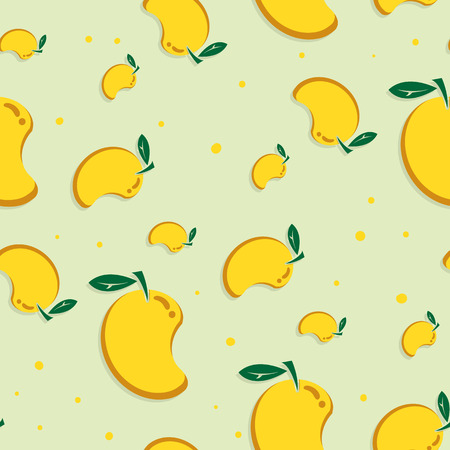 fruit pattern background graphic mango