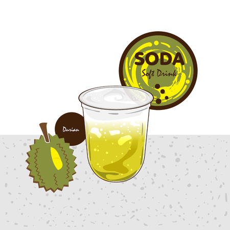 soda soft drink fruit graphic cup