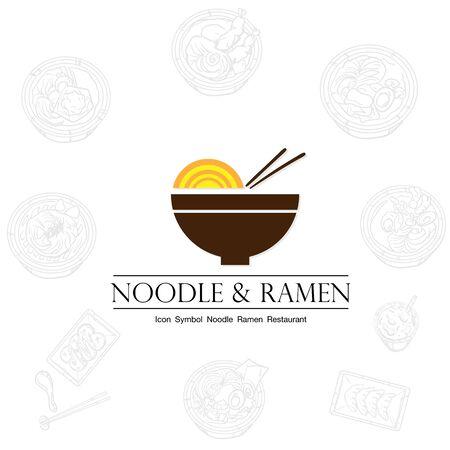noodle ramen icon graphic restaurant