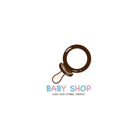 baby graphic icon symbol logo Standard-Bild - 129300825