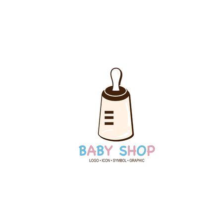 baby graphic icon symbol logo Standard-Bild - 129300821