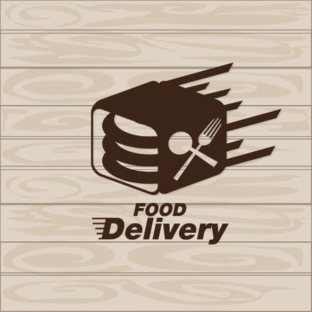 food delivery icon vector graphic element sign logo 矢量图像