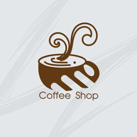 coffee shop cafe logo symbol sign graphic object 矢量图像