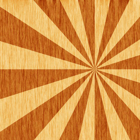 woodgrain starburst pattern Stock fotó