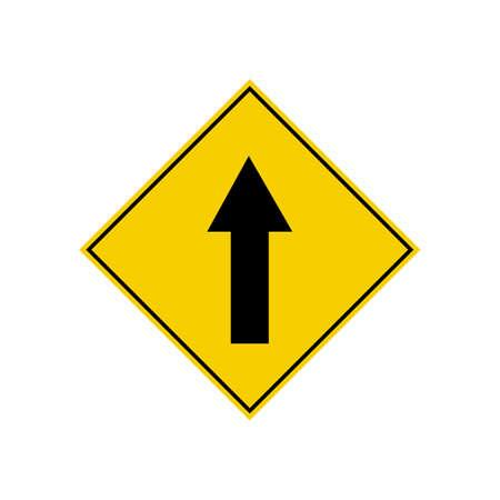 upward arrow sign