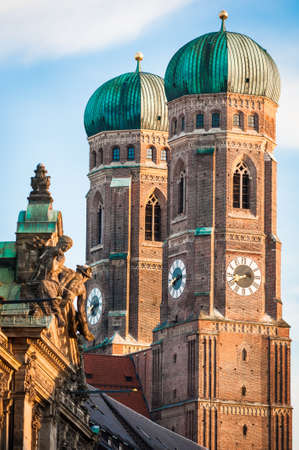 Munich Cathedral - Liebfrauenkirche in Munich - germany