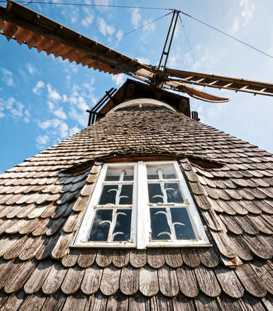 typical old windmill at binz/germany Stock Photo - 16783729