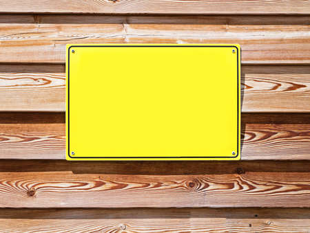 blank sign at a wall - nice background with space for text Stock Photo - 17078249
