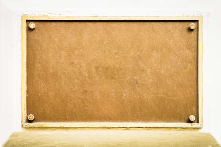 blank sign at a wall - nice background with space for text Stock Photo - 17078224