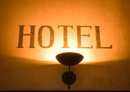 hotel sign: hotel sign