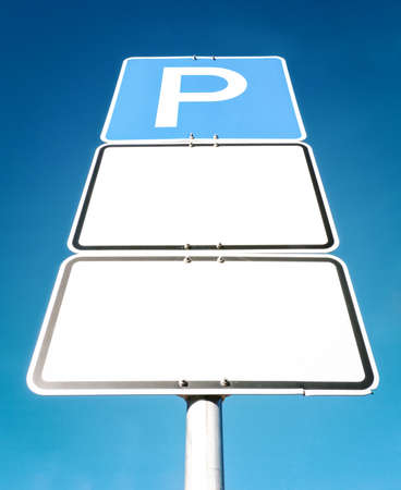 parking sign Stock Photo - 17079266