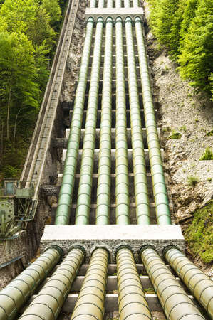 pipelines of a water pump photo