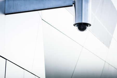 modern security camera - close-up
