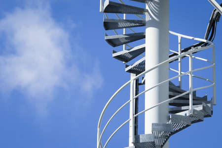modern fire escape and staircase Stock Photo - 17079660