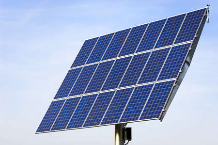 modern solar panel - solar cell photo