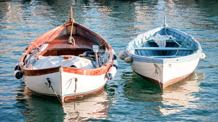old rowboats photo