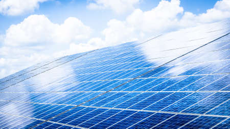 modern solar panel - solar cell