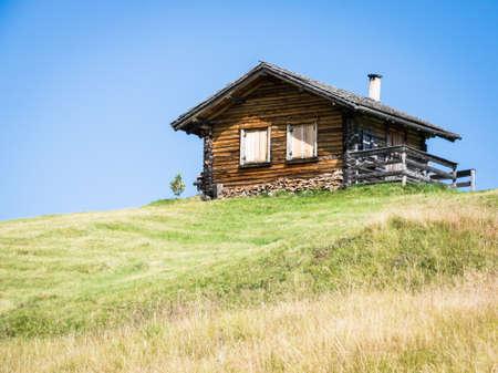 beautiful log cabin in austria Stock Photo - 17178779