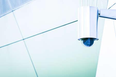 modern security camera - close-up Stock Photo - 17205198