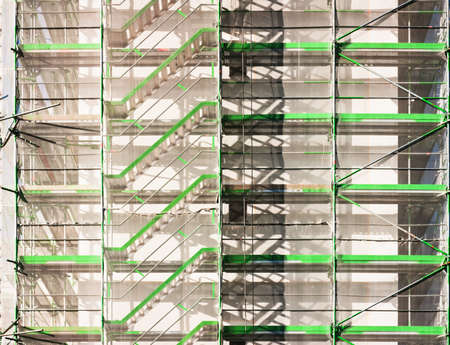 modern scaffolding at a construction site Stock Photo - 17273654
