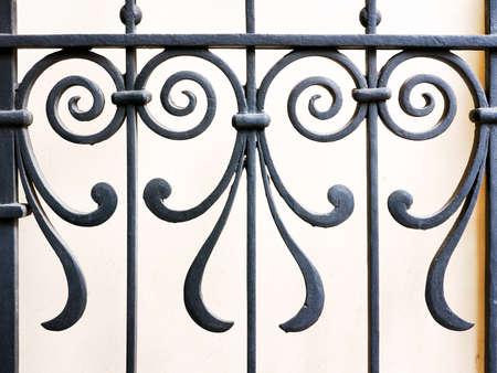 Teil eines alten Zaun - close-up