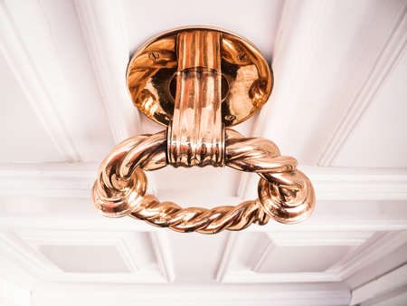doorknocker at a front door Stock Photo - 17325564