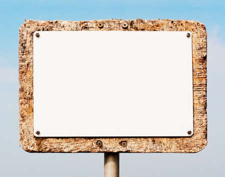 blank sign Stock Photo - 17365261
